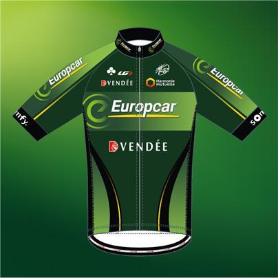 MAILLOT 2014 TEAM EUROPCAR Bdy-i610
