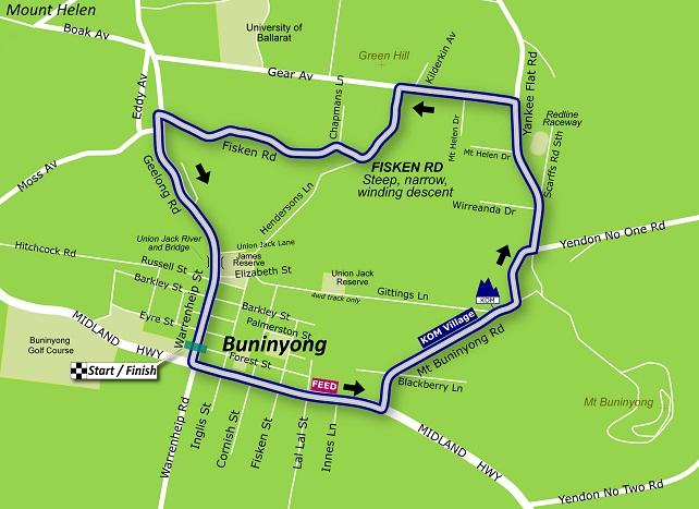 CHAMPIONNAT D'AUSTRALIE SUR ROUTE  --  12.01.2014 Race-r10