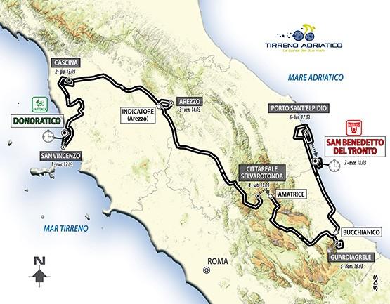 TIRRENO - ADRIATICO  --I-- 12 au 18.03.2014 Tirren10