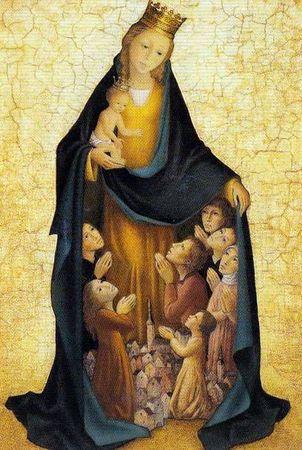 Neuvaine en préparation à la fête de l'Immaculée-Conception*  Vierge12