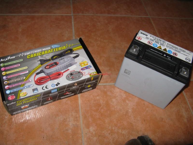 BMW K50 R1200GS LC MANUTENTORE batteria, rimessaggio invernale.- Max45116