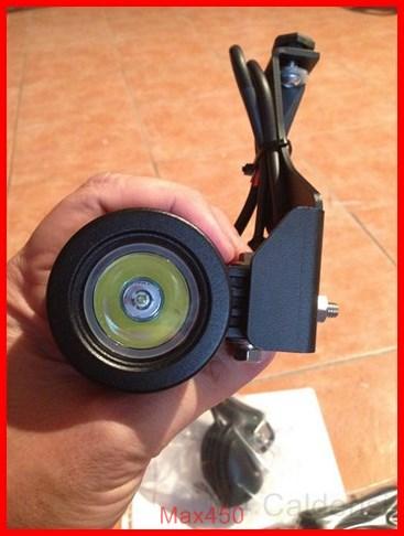 BMW K50 R1200GS LC Faretti aggiuntivi, montaggio M.Y.2014 Max45237