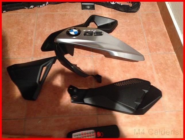 BMW K50 R1200GS LC Faretti aggiuntivi, montaggio M.Y.2014 Max45238