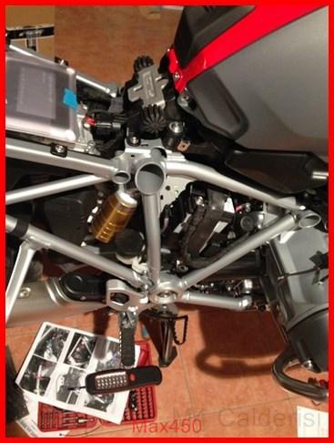 BMW K50 R1200GS LC Faretti aggiuntivi, montaggio M.Y.2014 Max45241