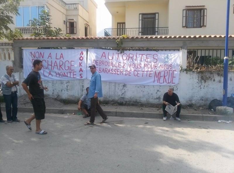 débat public  autour de la décharge de honte d'Aokas  Le Samedi 26 octobre 2013  13959215