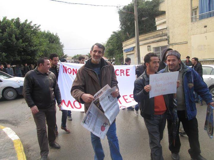 Rassemblement de solidarité avec les mozabites à Aokas! Mzab18