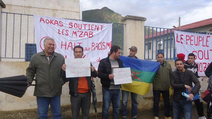 Rassemblement de solidarité avec les mozabites à Aokas! Mzab20