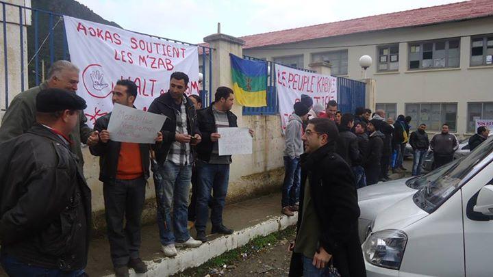 Rassemblement de solidarité avec les mozabites à Aokas! Mzab22