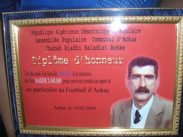 Larabi Sadek , une vie au service du CRBAokas! Sadek_10