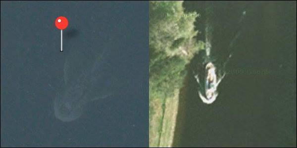 Le monstre du Loch Ness sur une image satellite ? 60367110
