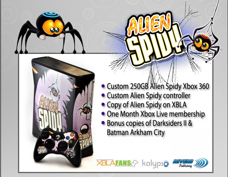 XBOX 360 : Edition ALIEN SPIDY Alien_11