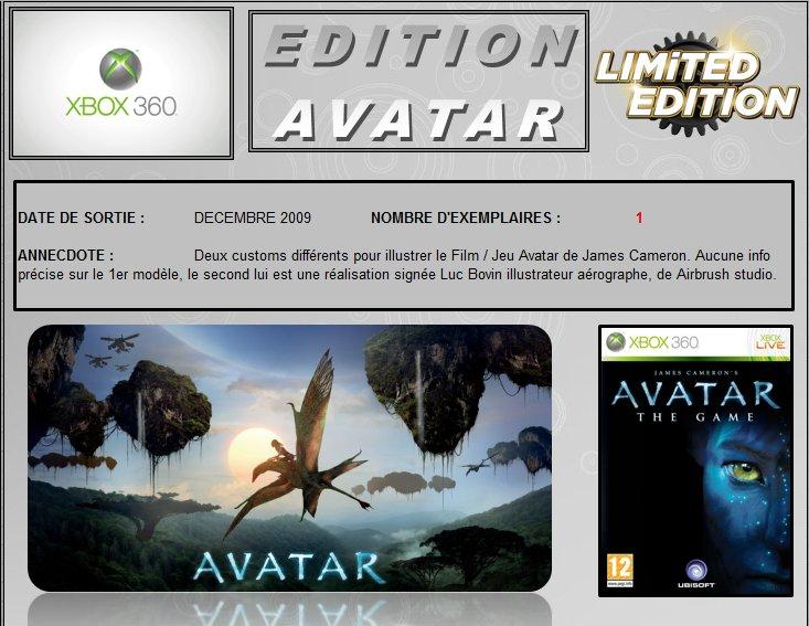 XBOX 360 : Edition AVATAR Avatar10
