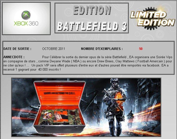XBOX 360 : Edition BATTLEFIELD 3 Battle10