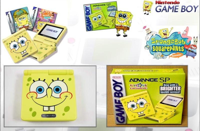 GAMEBOY ADVANCE SP : Edition SPONGE BOB Bob_0210