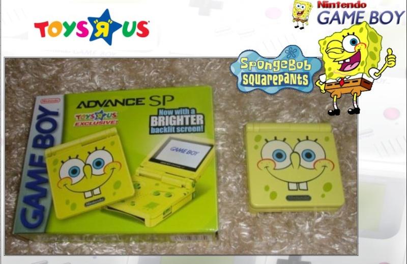 GAMEBOY ADVANCE SP : Edition SPONGE BOB Bob_0310
