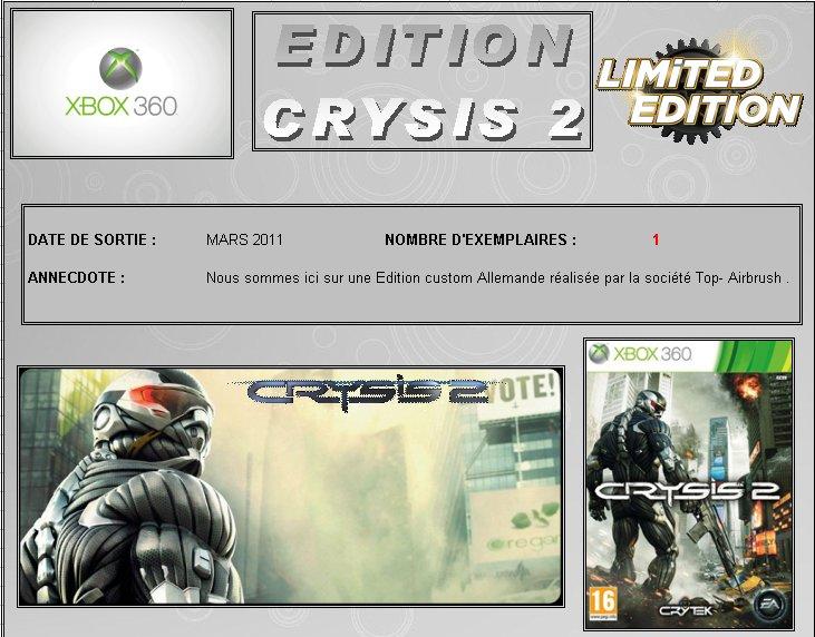 XBOX 360 : Edition CRYSIS 2  Crysis10