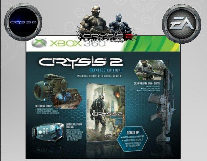 XBOX 360 : Edition CRYSIS 2  Crysis12