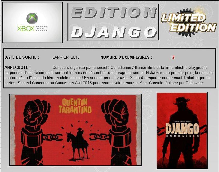 XBOX 360 : Edition DJANGO UNCHAINED Django10