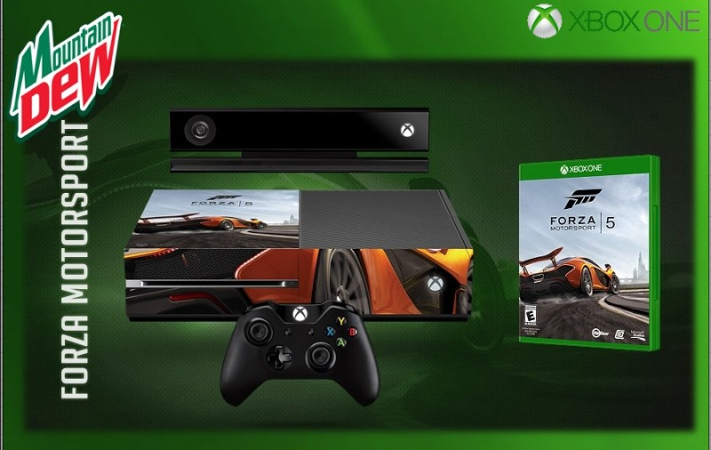 XBOX ONE : Edition FORZA MOTORSPORT 5 Forza512