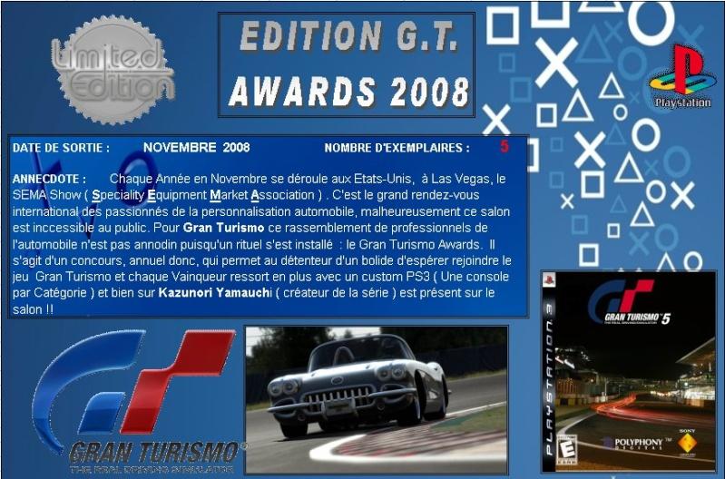 PLAYSTATION 3 : Edition GT AWARDS 2008  Gt_20014