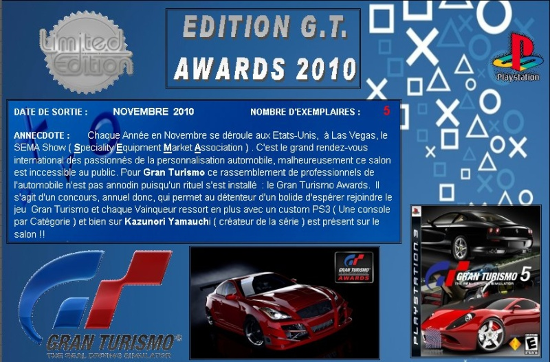 PLAYSTATION 3 : Edition GT AWARDS 2010 Gt_20110
