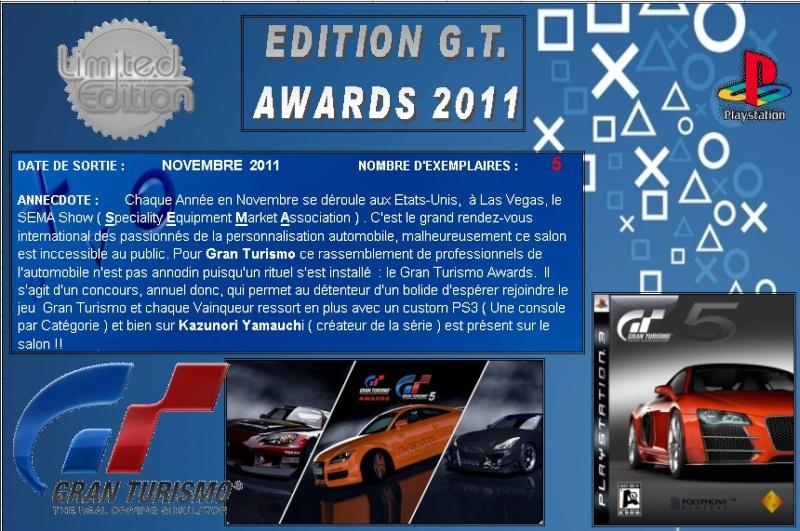 PLAYSTATION 3 : Edition GT AWARDS 2011 Gt_20114