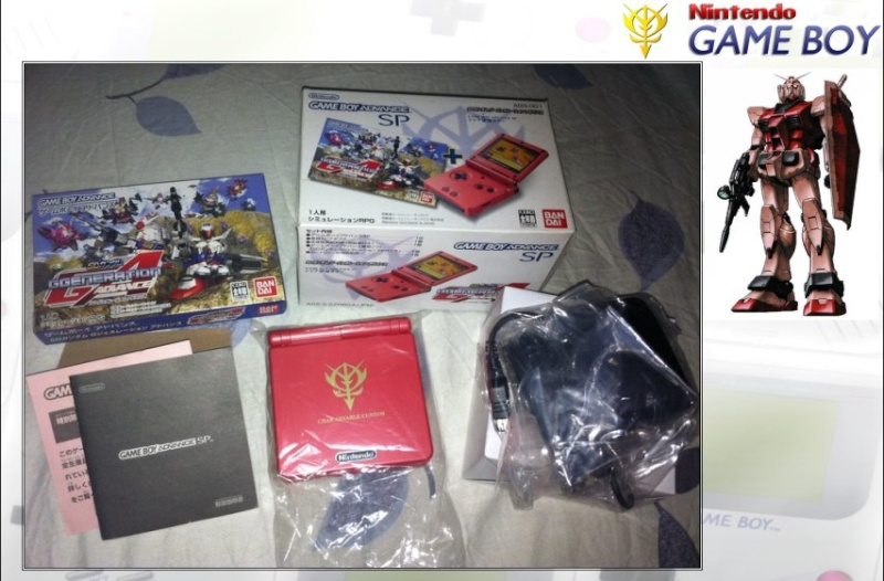 GAMEBOY ADVANCE SP : Edition GUNDAM Gundam13