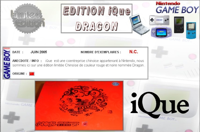 GAMEBOY ADVANCE SP : Edition iQue DRAGON Ique_d10
