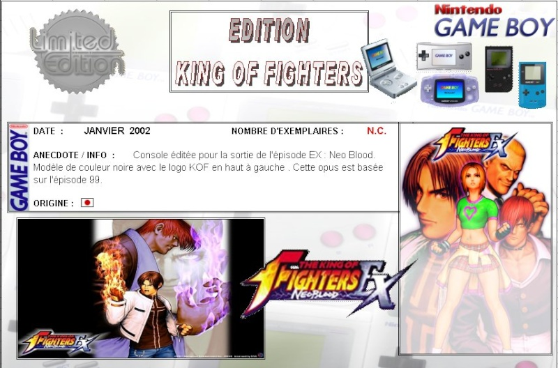 GAMEBOY ADVANCE : Edition KING OF FIGHTERS King_o10