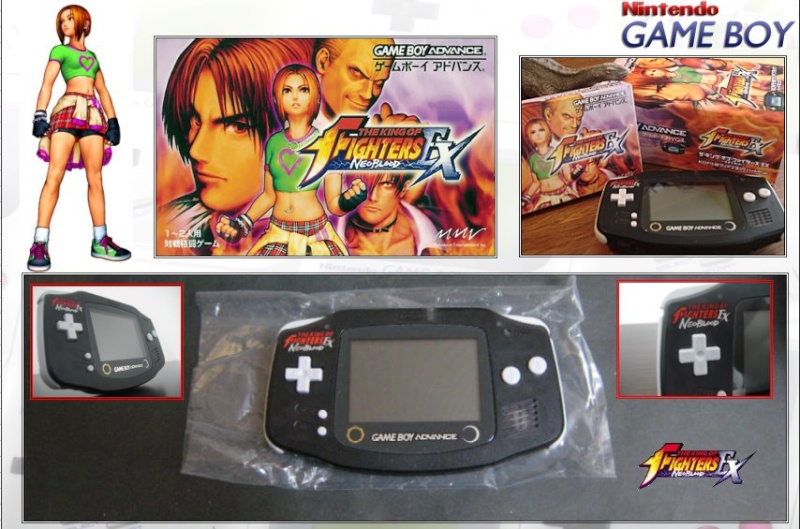 GAMEBOY ADVANCE : Edition KING OF FIGHTERS King_o11