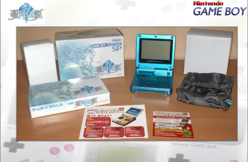 GAMEBOY ADVANCE SP : Edition MANA BLUE Mana_b12