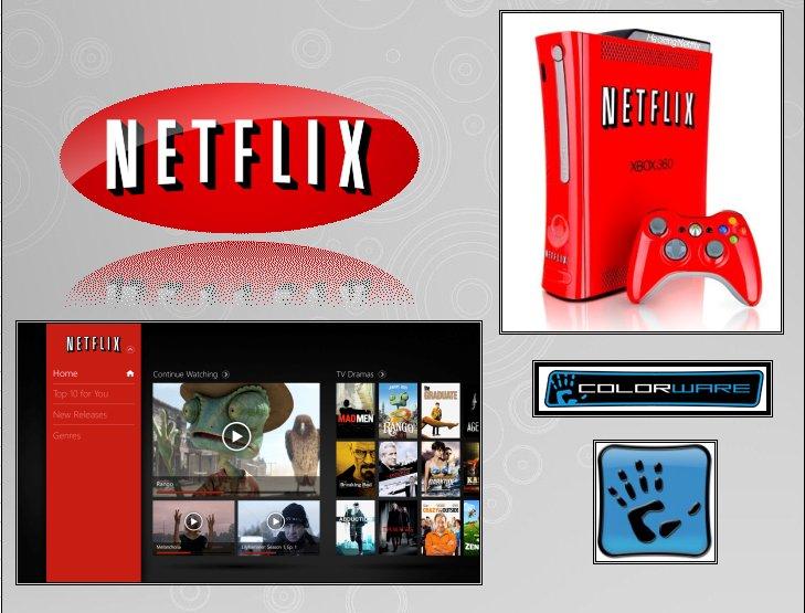 XBOX 360 : Edition NETFLIX Netfli12