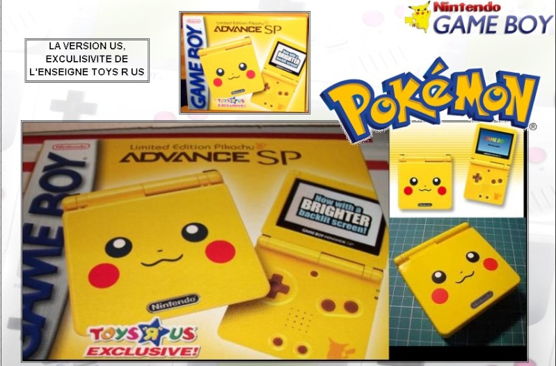 GAMEBOY ADVANCE SP: Edition POKEMON PIKAHCU Poke_p12