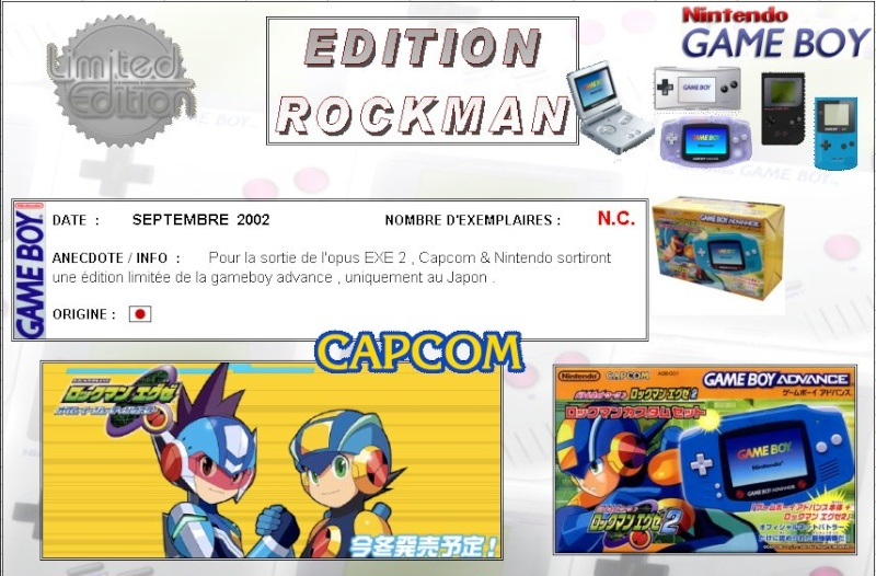 GAMEBOY ADVANCE : Edition ROCKMAN Rockma10