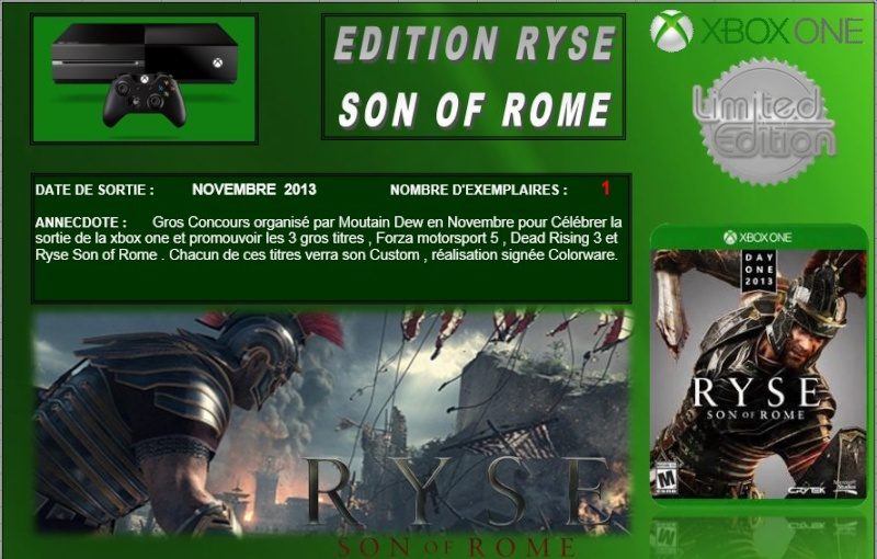 XBOX ONE : Edition RYSE SON OF ROME Ryse_010