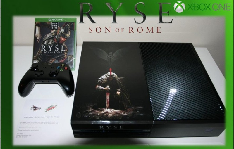 XBOX ONE : Edition RYSE SON OF ROME Ryse_013