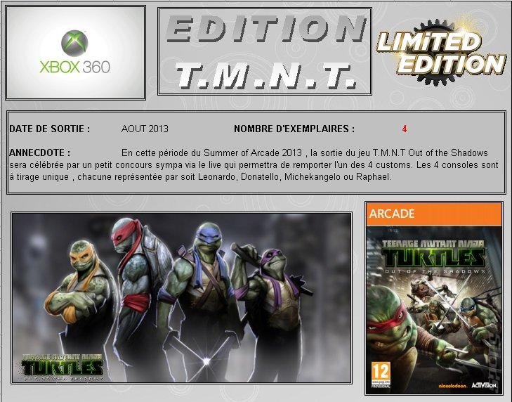 XBOX 360 : Edition TEENAGE MUTANT NINJA TURTLES Tmnt_010