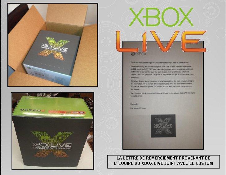 XBOX 360 : Edition XBOX LIVE 10th Xblive12