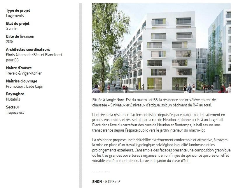 Informations sur la résidence de logements sociaux - Vilogia (B5c) B5c11