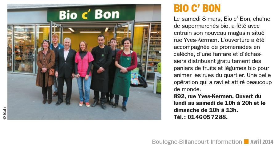 Supermarché Bio c'bon Bio_c_11