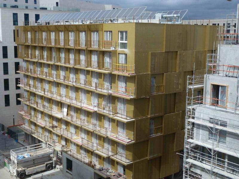 Photos des travaux de Golden Cube P1180514