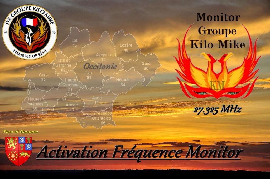 """Activation Spéciale """"Fréquence Monitor Groupe Kilo Mike""""  Carte_30"""