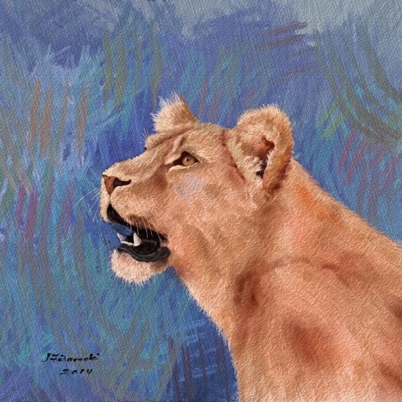 Lion Painting Lion_j10