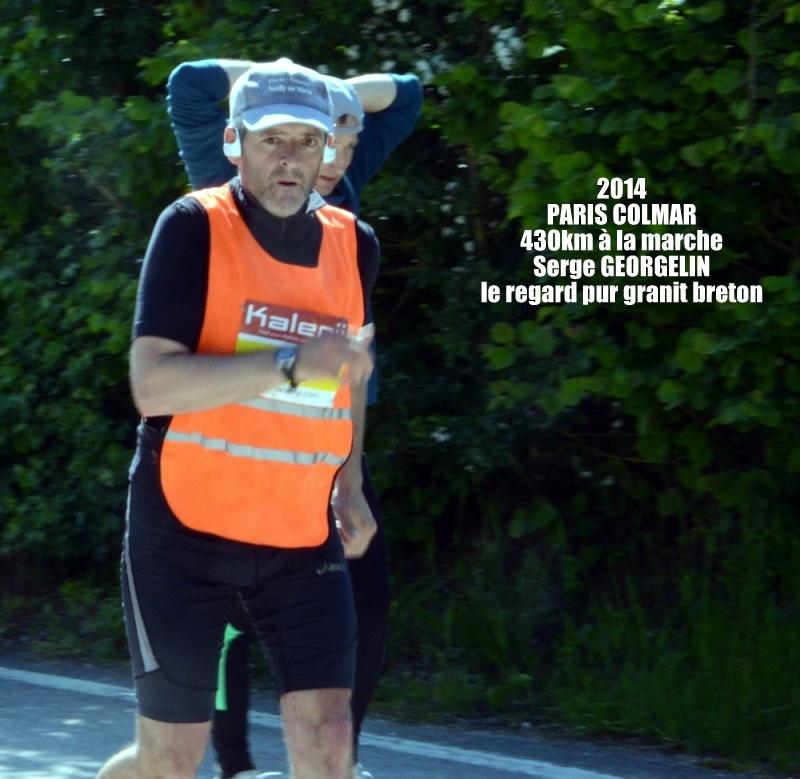 PARIS-COLMAR 2014 dossard 21 Serge GEORGELIN Bou_4811