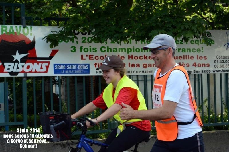 PARIS-COLMAR 2014 dossard 21 Serge GEORGELIN Bou_6410
