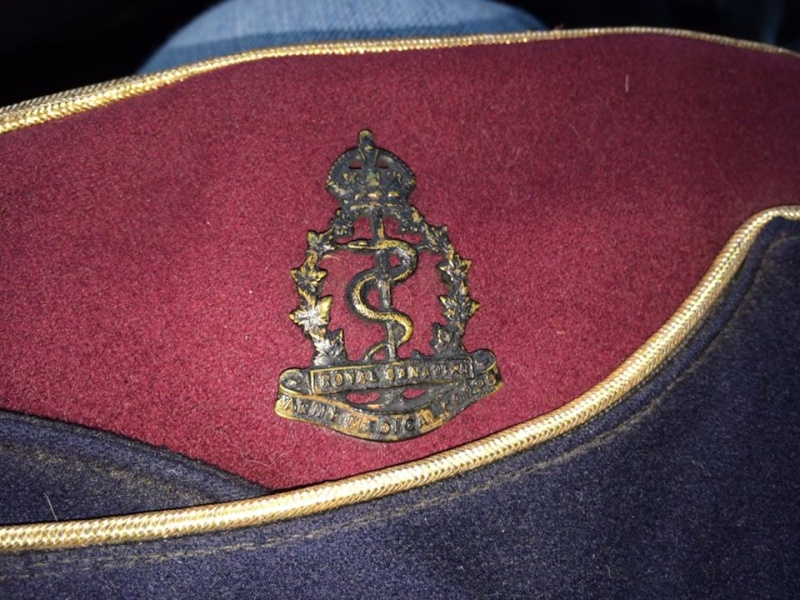 RCAMC Officers Coloured Field Service Cap 15555510