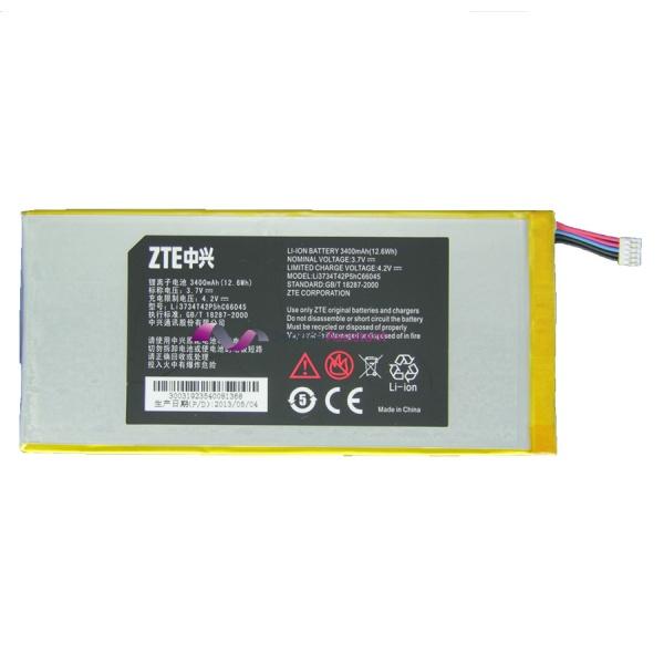 ZTE V72a tablet battery Li3734T42P5hC66045 110