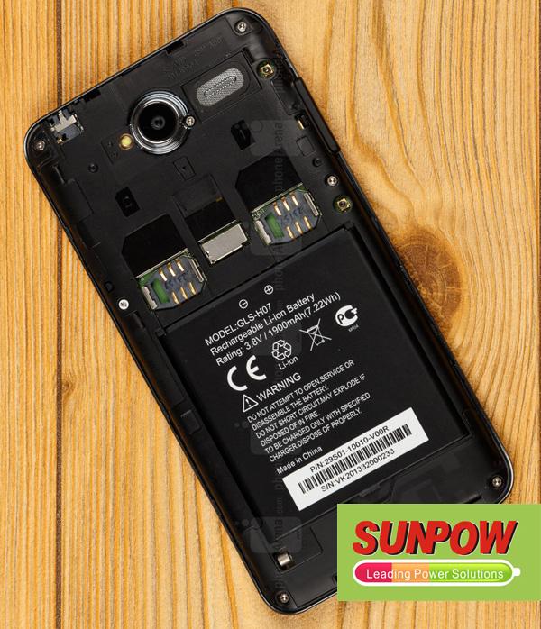 Gigabyte GSmart Simba SX1 Battery GLS-H07  1110
