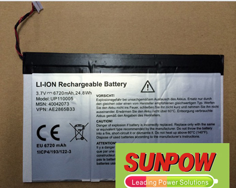 Medion Lifetab P9514 Battery 40042073  DR-MD920 1115
