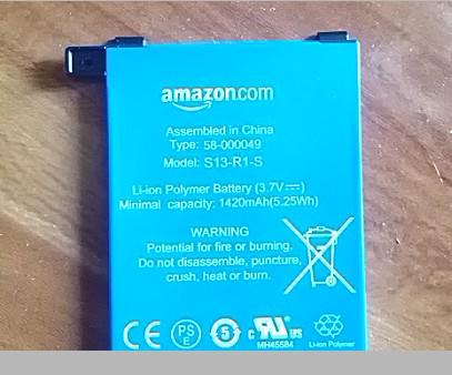 Amazon S13-R1-S Battery 210